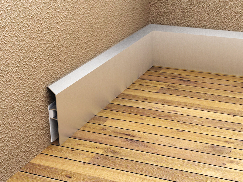 ALS 80 Auminium Skirting