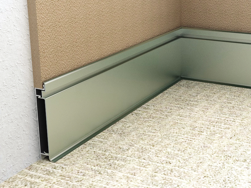 ALS 85 Aluminium Skirting